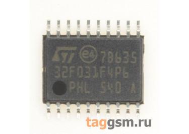 STM32F031F4P6 (TSSOP-20) Микроконтроллер 32-Бит, ARM Cortex-M0