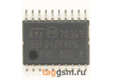STM32F042F4P6 (TSSOP-20) Микроконтроллер 32-Бит, ARM Cortex-M0
