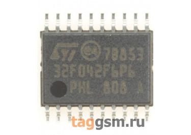 STM32F042F6P6 (TSSOP-20) Микроконтроллер 32-Бит, ARM Cortex-M0