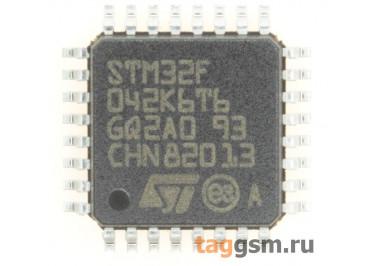 STM32F042K6T6 (LQFP-32) Микроконтроллер 32-Бит, ARM Cortex-M0