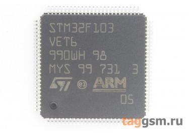STM32F103VET6 (LQFP-100) Микроконтроллер 32-Бит, ARM Cortex-M3