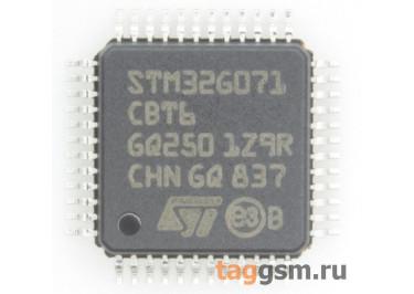 STM32G071CBT6 (LQFP-48) Микроконтроллер 32-Бит, ARM Cortex-M0+