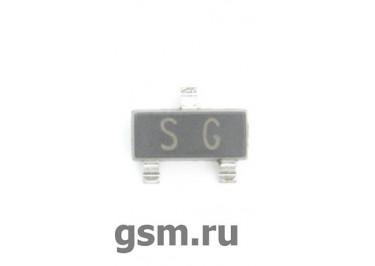 2SA1162 (SOT-23) Биполярный транзистор PNP 50В 0,15А