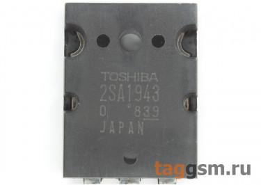 2SA1943-O (TO-3P) Биполярный транзистор PNP 250В 17А
