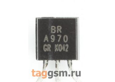 2SA970 (TO-92) Биполярный транзистор PNP 120В 0,1А