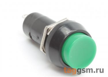 PBS-11A / G Кнопка на панель круглая зелёная с фиксацией ON-OFF SPST 250В 1А (12мм)