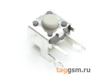 B3F-3122 Кнопка тактовая углавая 6х6мм h=3,85мм 4 конт.(2 GND) SPST-NO