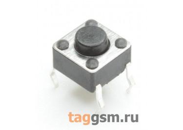 TS-6029JH-043 Кнопка тактовая 6х6мм h=4,3мм 4 конт. SPST-NO