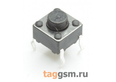 TS-6029JH-050 Кнопка тактовая 6х6мм h=5мм 4 конт. SPST-NO
