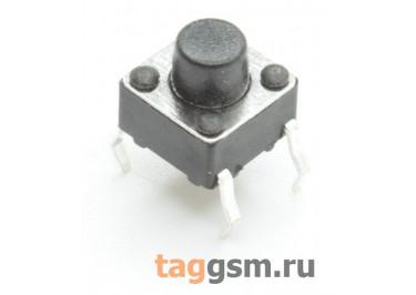 TS-6029JH-060 Кнопка тактовая 6х6мм h=6мм 4 конт. SPST-NO