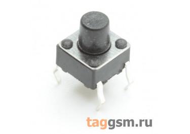 TS-6029JH-070 Кнопка тактовая 6х6мм h=7мм 4 конт. SPST-NO