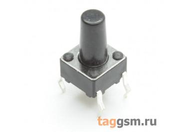 TS-6029JH-100 Кнопка тактовая 6х6мм h=10мм 4 конт. SPST-NO