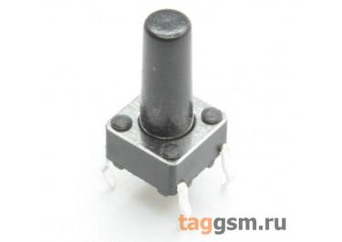 TS-6029JH-120 Кнопка тактовая 6х6мм h=12мм 4 конт. SPST-NO