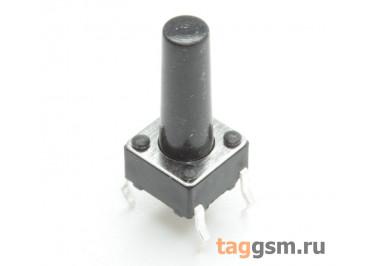 TS-6029JH-130 Кнопка тактовая 6х6мм h=13мм 4 конт. SPST-NO