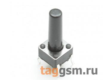TS-6029JH-140 Кнопка тактовая 6х6мм h=14мм 4 конт. SPST-NO