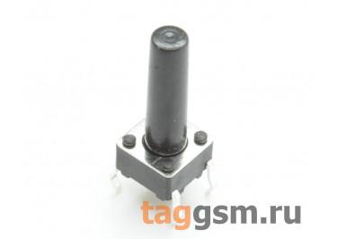 TS-6029JH-150 Кнопка тактовая 6х6мм h=15мм 4 конт. SPST-NO
