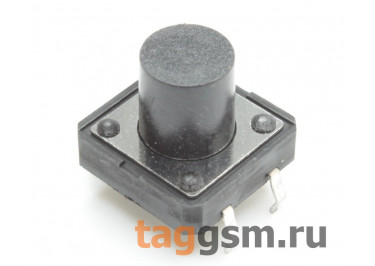 Кнопка тактовая 12х12мм h=10мм 4 конт. SPST-NO