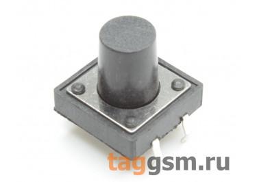 Кнопка тактовая 12х12мм h=11мм 4 конт. SPST-NO