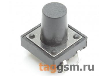 Кнопка тактовая 12х12мм h=12мм 4 конт. SPST-NO