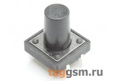 Кнопка тактовая 12х12мм h=13мм 4 конт. SPST-NO