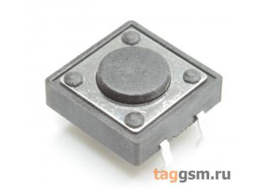 Кнопка тактовая 12х12мм h=4,3мм 4 конт. SPST-NO