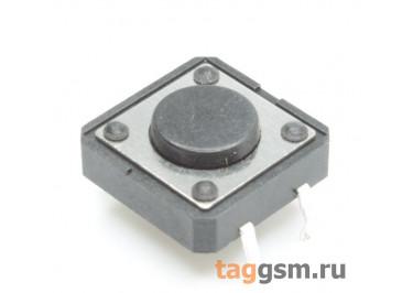 Кнопка тактовая 12х12мм h=4,5мм 4 конт. SPST-NO