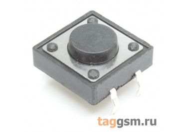 Кнопка тактовая 12х12мм h=5мм 4 конт. SPST-NO