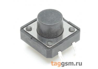 Кнопка тактовая 12х12мм h=7,5мм 4 конт. SPST-NO