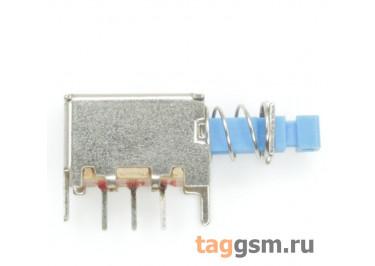 PS-12E01L Кнопочный переклюатель с фиксацией ON-ON SPDT 50В 0,5А