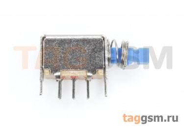 PS-22E05L Кнопочный переклюатель с фиксацией ON-ON DPDT 50В 0,5А