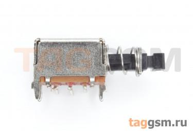 PS-22E25L Кнопочный переклюатель с фиксацией SMD ON-ON DPDT 50В 0,5А