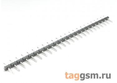 LF332J-5.0-24P (Черный) Вилка штыревая на плату 24 конт. шаг 5мм 300В 10А