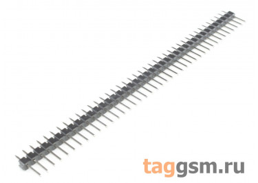LF612-2.54-40P-130 [1*40P] (Черный) Вилка штыревая на плату 40 конт. шаг 2,54мм
