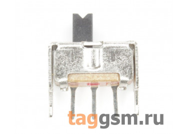 SS-12D02 (1P2T) Переключатель движковый на плату ON-ON SPDT