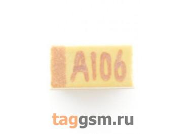 TAJA106K010R (CASE A) Конденсатор танталовый SMD 10 мкФ 10В 10%