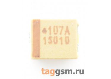 TAJB107K010R (CASE B) Конденсатор танталовый SMD 100 мкФ 10В 10%