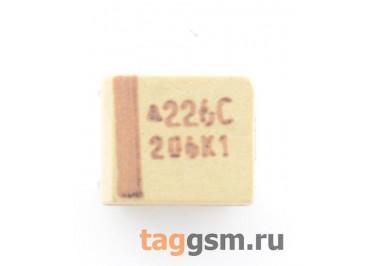 TAJB226K016R (CASE B) Конденсатор танталовый SMD 22 мкФ 16В 10%