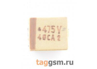 TAJB475K035R (CASE B) Конденсатор танталовый SMD 4,7 мкФ 35В 10%