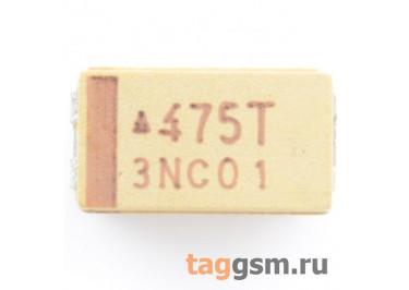 TAJC475K050R (CASE C) Конденсатор танталовый SMD 4,7 мкФ 50В 10%