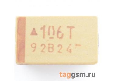 TAJD106K050R (CASE D) Конденсатор танталовый SMD 10 мкФ 50В 10%