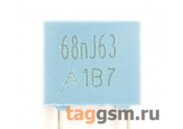 B32529C0683J000 Конденсатор плёночный 68 нФ 63В