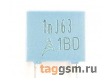 B32529C0102J000 Конденсатор плёночный 1 нФ 63В