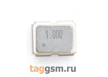Кварцевый генератор 1 МГц 3,3В (SMD3225)