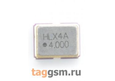 Кварцевый генератор 4 МГц 3,3В (SMD3225)
