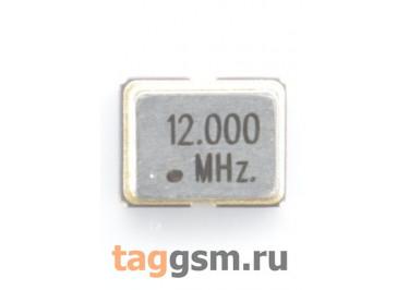 Кварцевый генератор 12 МГц 3,3В (SMD3225)