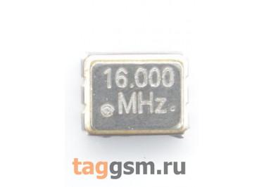 Кварцевый генератор 16 МГц 3,3В (SMD3225)