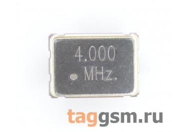 Кварцевый генератор 4 МГц 3,3В (SMD5070)