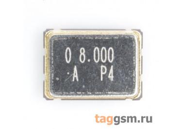 Кварцевый генератор 8 МГц 3,3В (SMD5070)