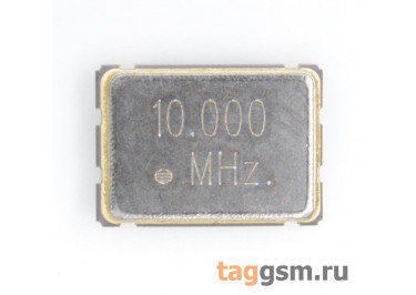Кварцевый генератор 10 МГц 3,3В (SMD5070)