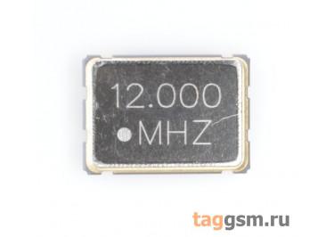 Кварцевый генератор 12 МГц 3,3В (SMD5070)